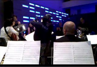 Cristina Donà gira il video di Miracoli all'interno dell'Auditorium Modernissimo progettato da GrittiArchitetti