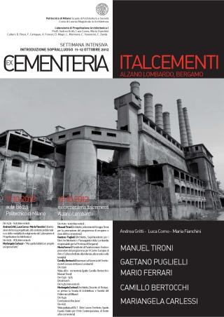 Seminario cementeria Italcementi
